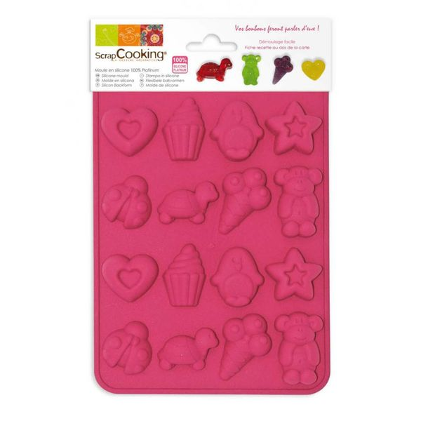 ScrapCooking Little Sweets Silicone Mould