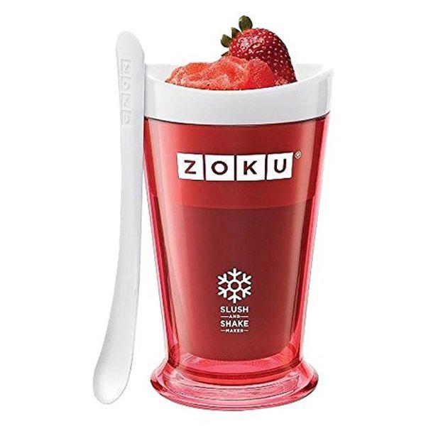 Tasse à barbotine rouge de Zoku