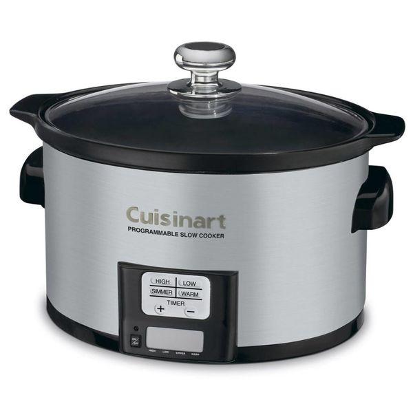 Cuisinart 3.3 Liter Programmable Slow Cooker