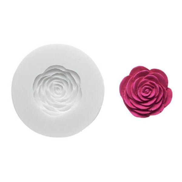 """Moule à rose """"Sugarflex"""" WonderCakes de Silikomart"""