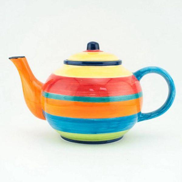 Portugal Imports Fiesta Tea Pot