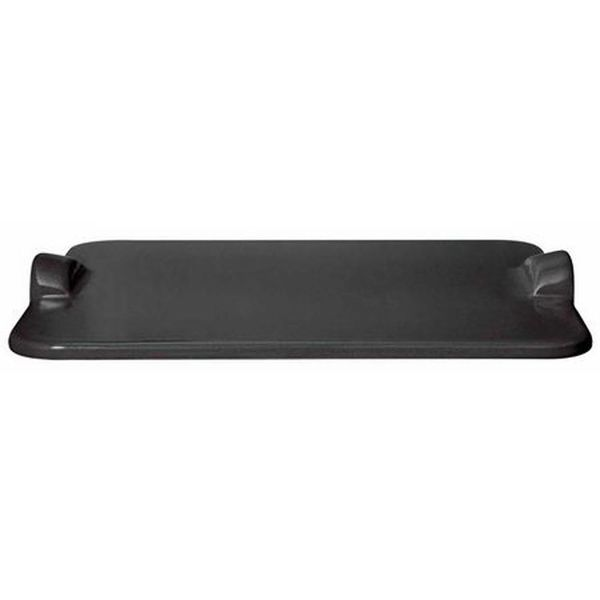 Emile Henry Rectangular Baking Stone - Charcoal