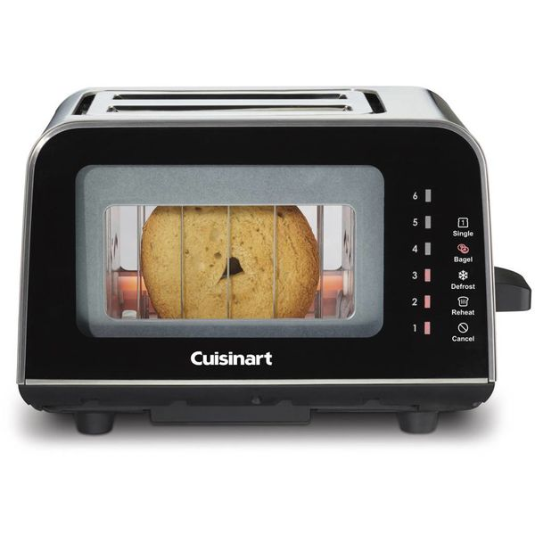 Cuisinart ViewPro 2-Slice Glass Toaster