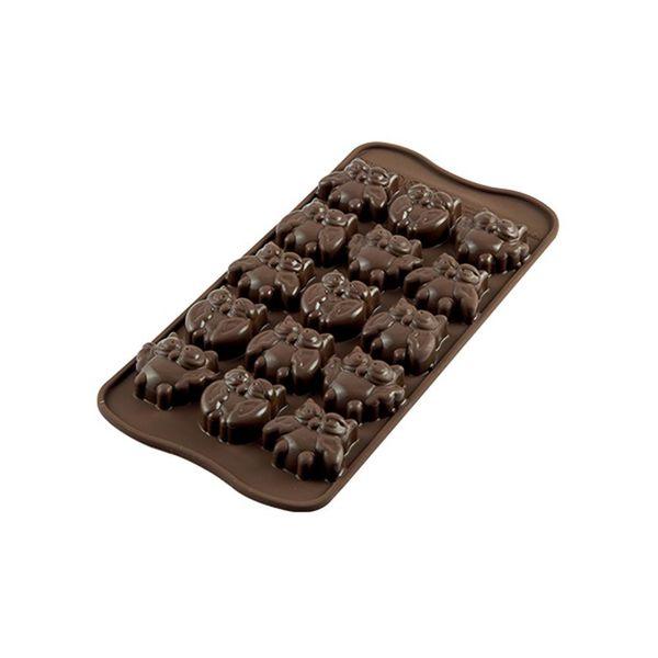 Silikomart Silicone Easy Choc Choco Gufi Chocolate Mould