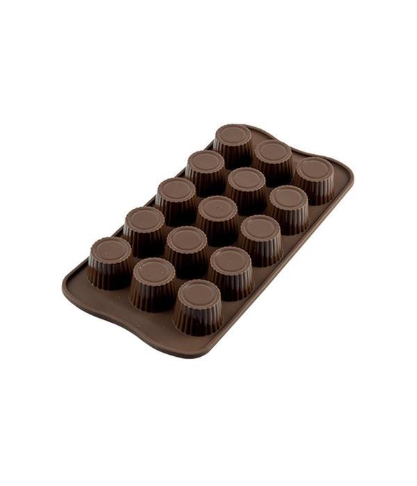 Silikomart Silikomart Silicone Easy Choc Praline Chocolate Mould