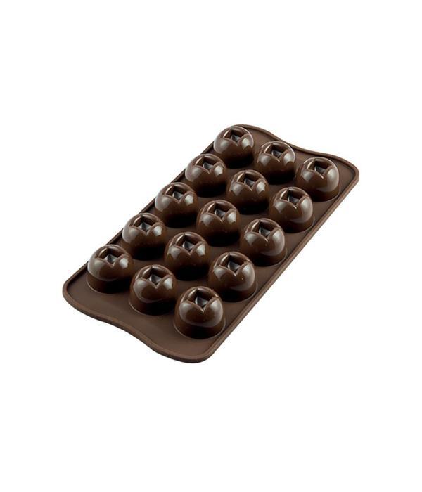 Silikomart Silikomart Sillicone Easy Choc Imperial Chocolate Mould