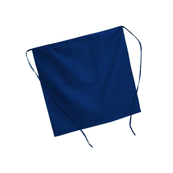 Johnson Rose Half Apron Royal Blue