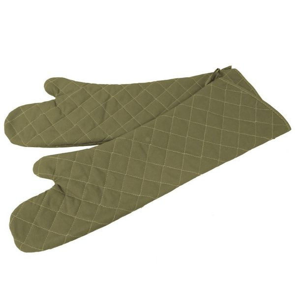 Johnson Rose 61cm Oven Mitts Beige