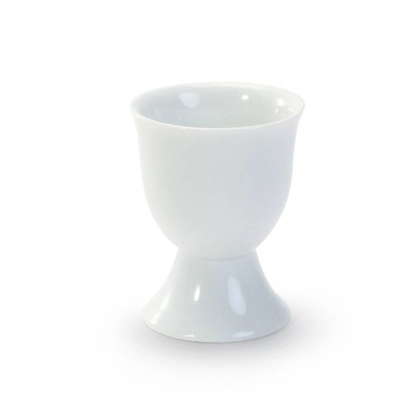 "SINGLE EGG CUP, 2.5"", WHITE"