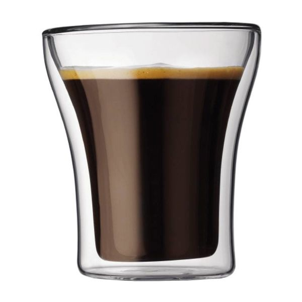 Bodum Assam 2 pc Cappucino Glass Set