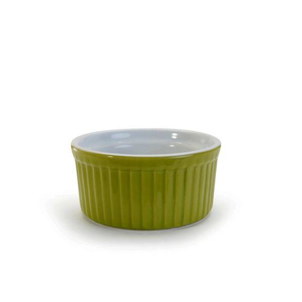 TWO-TONE RAMEKIN, 4.5OZ GREEN