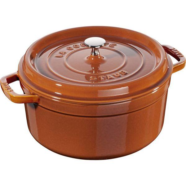 Staub Round Cocotte 4,6 L Cinnamon