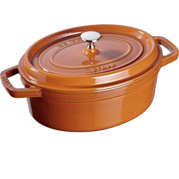 Staub Oval Cocotte 5,5 L Cinnamon