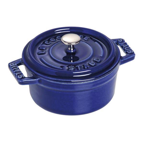 Staub Round Cocotte 230 ml Blue