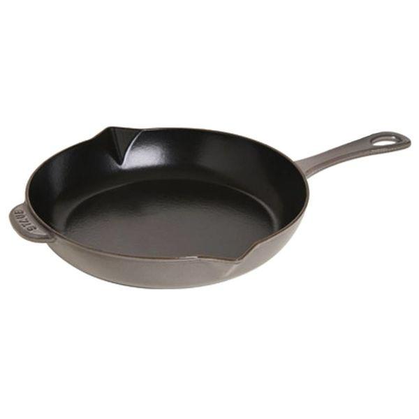 Staub Fry Pan 30 cm Grey