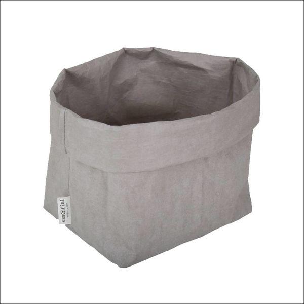 Sac de cellulose de Essential 21 cm x 14 cm x 30 cm / Gris
