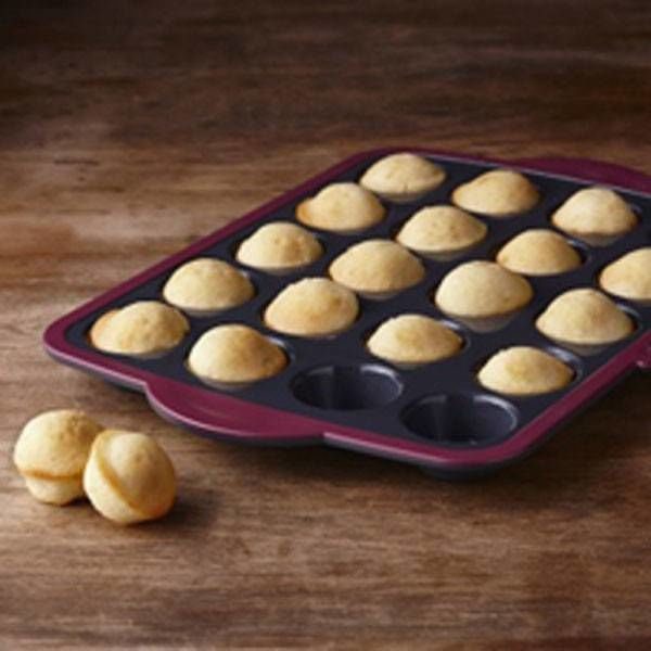 Trudeau Structure 20 Mini Muffin Pan