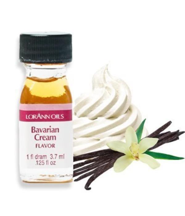 Arôme en huile crême bavaroise 3,7 ml de Lorann Oil