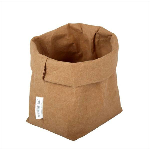 Sac de cellulose de Essential 10 cm x 12 cm x 29 cm / Beige