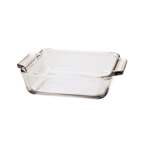 Plat carré de 20cm ''Oven Basics'' de Anchor Hocking