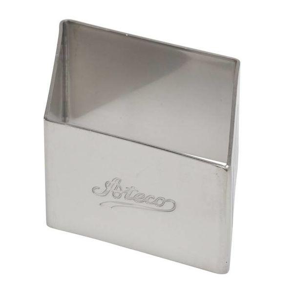 "Ateco 3.5"" Diamond Cookie Cutter"