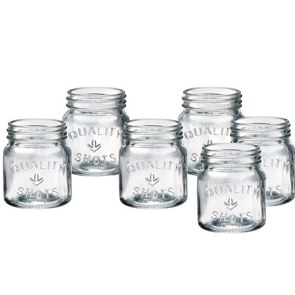 Artland Oasis 6 Piece Shot Glass Set