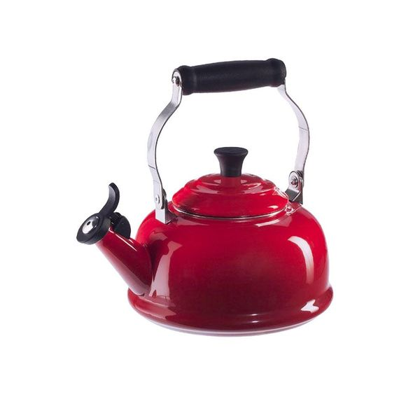 Le Creuset Classic Whistling Kettle Cherry