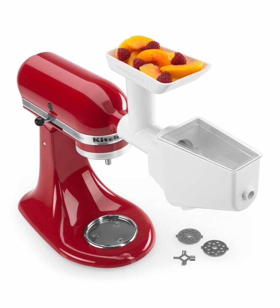 kitchenaid accessoire broyeur et presse-fruits et légumes de