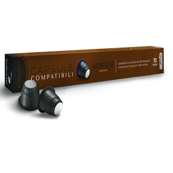 Nespresso Compatible Caffitaly Robusto Capsules