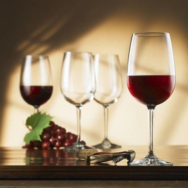 Ensemble de 4 verres bordeaux Nadia de Bormioli