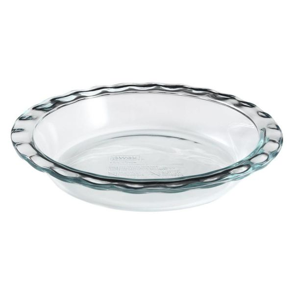 "Pyrex Easy Grab 9.5"" Pie Plate"