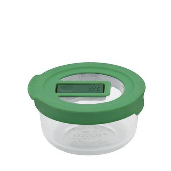 Pyrex No-leak Lid Round Storage Dish 1-cup