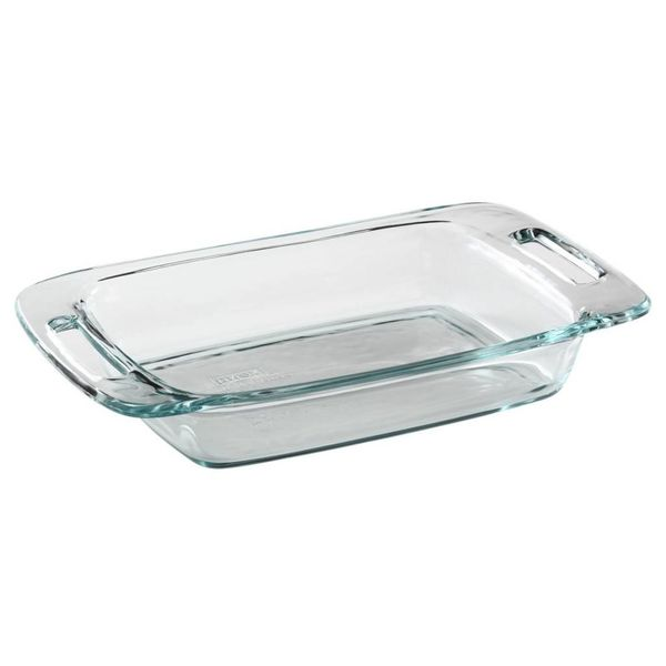 Pyrex Easy Grab 2-qt Oblong Baking Dish