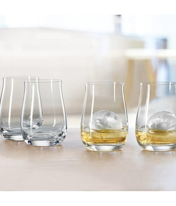 Spiegelau Ensemble de 4 verres à bourbon à barril unique de Spiegelau