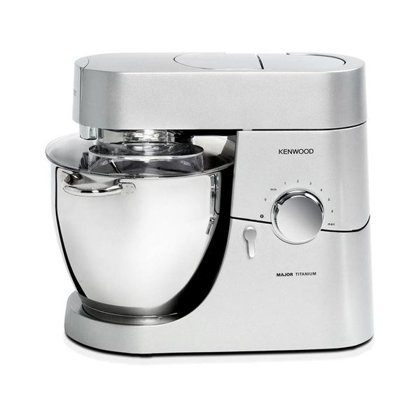 Kenwood Chef Major 6.7L / 7qt Kitchen Machine 800W Stand Mixer with 3 Stainless Steel Bowl Tools