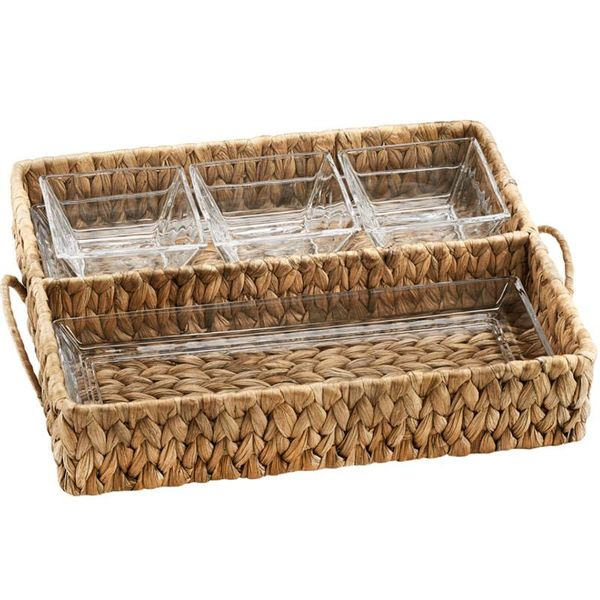 Artland GARDEN TERRACE DOUBLE TRAY & Bowl SERVER