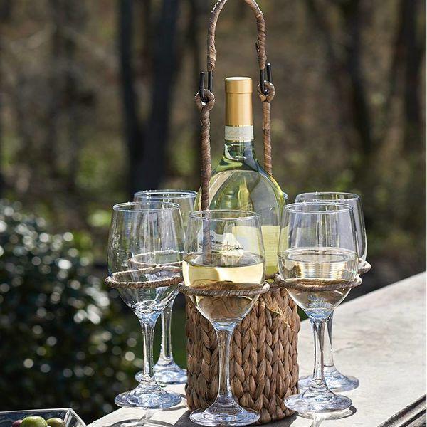 Panier à vin de 7 pièces Garden Terrace de Artland