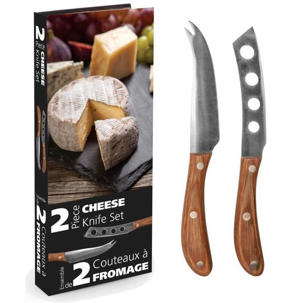Danesco Set of 2 CHEESE KNIVES