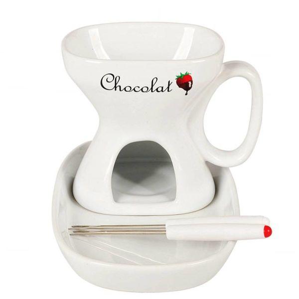 `CHOCOLAT`FONDUE, 4 PCS.