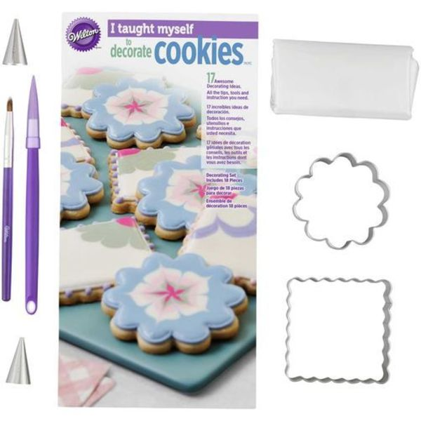 "Wilton ""I Taught Myself"" Cookie Decorating Book Set"
