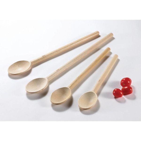 "Browne Deluxe Heavy Duty Wood Spoons, 16"""