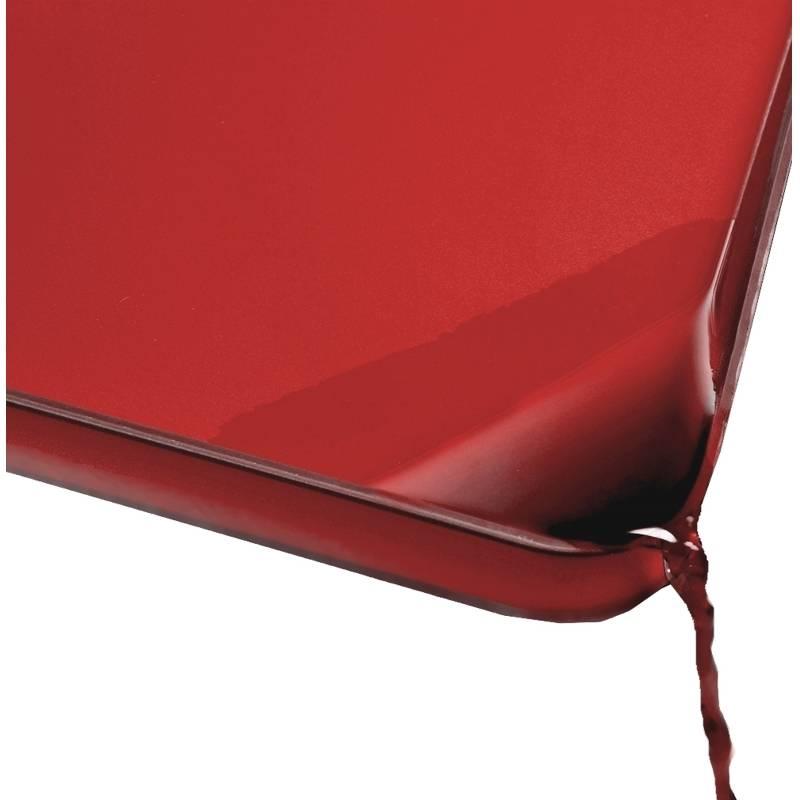 Chef Aid 10e21052/Poly Planche /à d/écouper Rouge