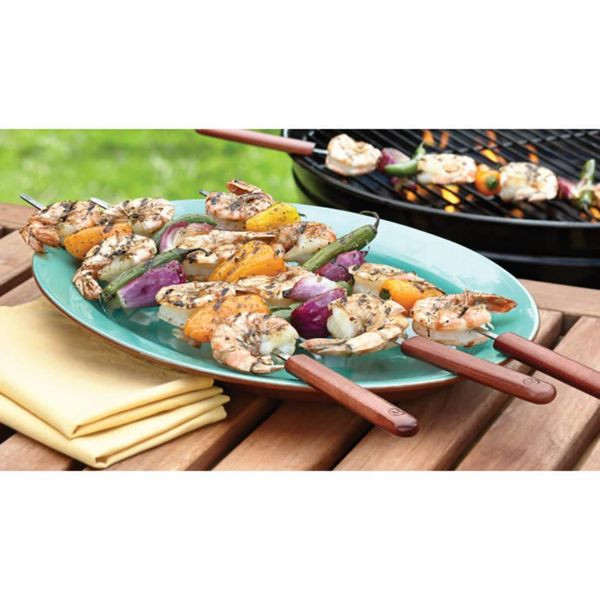 Ensemble de 4 brochettes 51 cm de Outset
