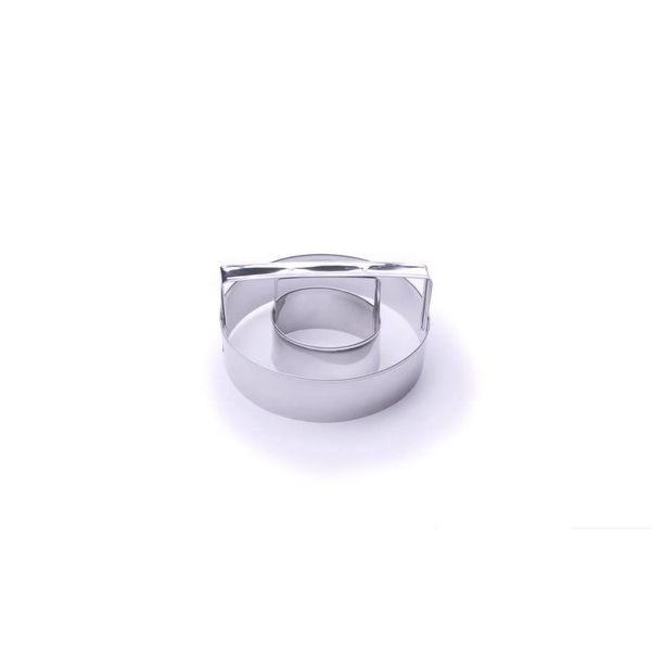Emporte-pièce beigne en acier inox 10 cm de Fox Run