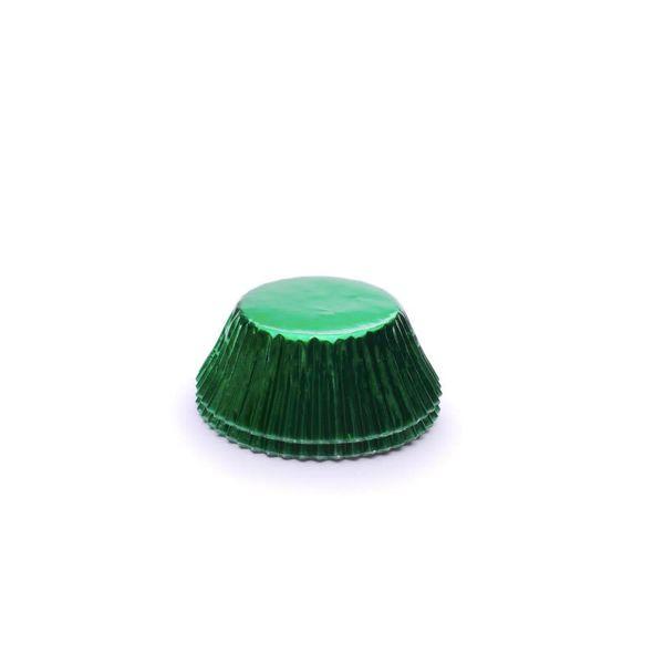 Fox Run Green Foil Standard Baking Cups (32)