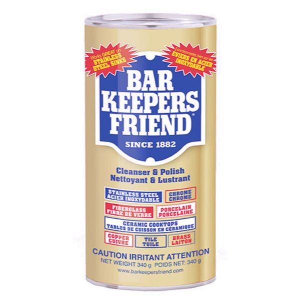 """Produit nettoyant en poudre """"BarKeeper's friend"""" de Fox Run"""