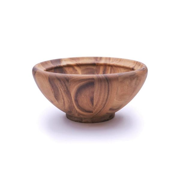 Ironwood Acacia Wood Large Salad Bowl