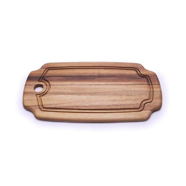 Planche à découper 38 x 20 cm en bois d'acacia de Ironwood