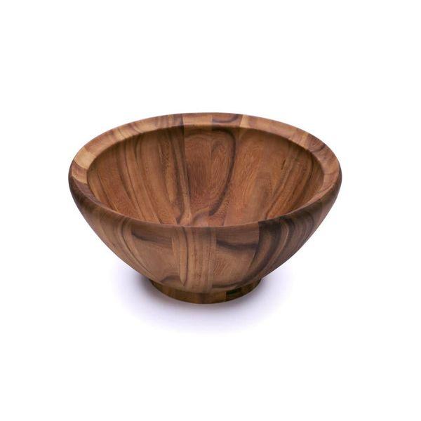 Bol à salade 41 cm en bois d'acacia de Ironwood