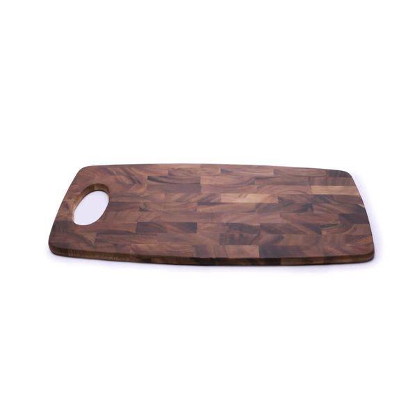 Planche à découper Rect. 38 x 20 cm en bois d'acacia de Ironwood